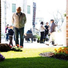 Carnevale Dolo Spazio Luce Un Giardino ad Arte dipinto-giardino Miro'