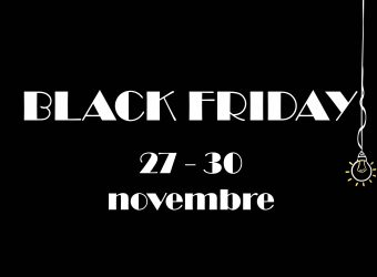 black friday 27 – 30 novembre 2020
